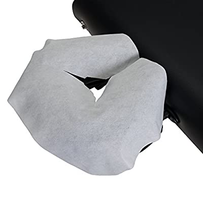 EARTHLITE Disposable Massage Headrest Cover – Medical-Grade, Ultra Soft, Luxurious, Non-Sticking Face Rest Cradle Covers (100/200 count)