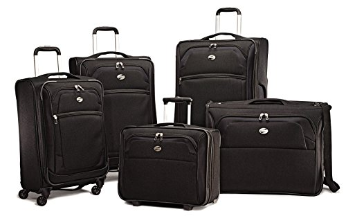 American Tourister Ilite Xtreme 5 Piece Set American Tourister Lightweight Garment Bag