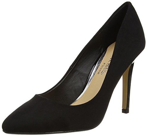Head Over Heels Damen Alice Pumps Schwarz (Schwarz)