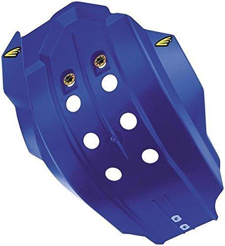 14-18 YAMAHA YZ250F: Cycra Full Coverage Skid Plate (Blue) Blue Rear Skid Plate