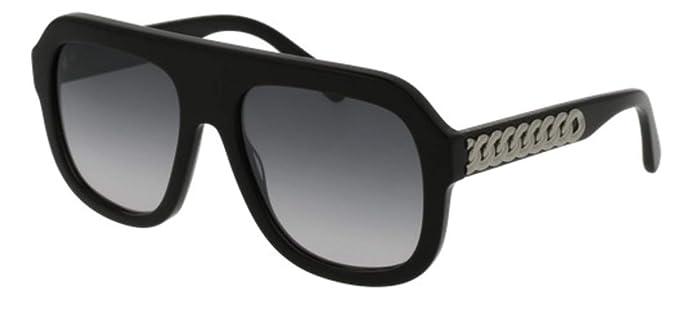 Stella McCartney SC0065S 001 Gafas de Sol, Negro (001-Black ...
