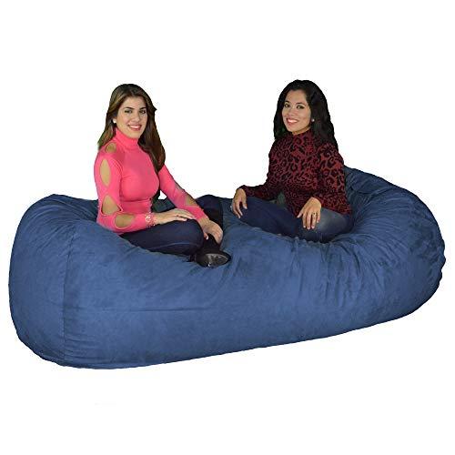 Amazon Com Cozy Sack 840 Cbb Sky Maui Beanbag Chair 8