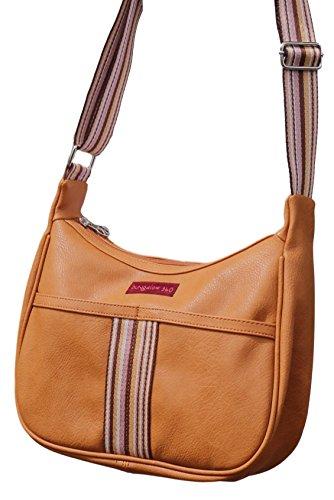 Curry Bag Leather 360 Hobo Vegan Original Striped Bungalow qz14z