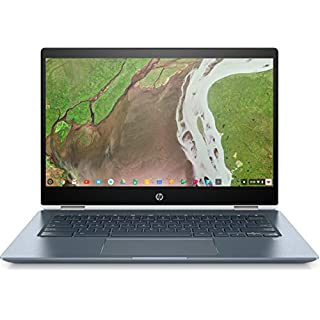 "HP Chromebook x360 14-14"" FHD Touch - Core i3-8130u - 8GB - 64GB eMMC - White and Blue"