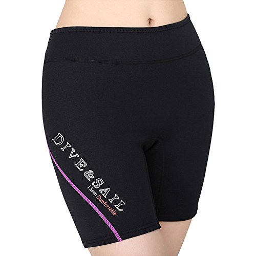 A Point 1.5mm Neoprene Diving Shorts Thick Warm Pants Wet...