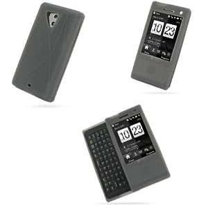 Coque silicone PDAIR NOIR pour HTC Touch pro