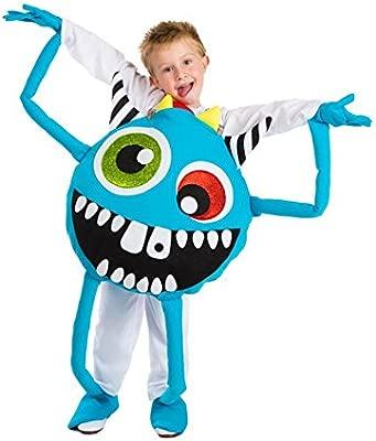 Disfraz de Monstruo azul para niños en talla única: Amazon.es ...
