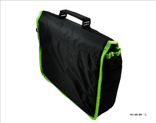 Black Messenger Trim HP Carry Slate Green Elec 500 amp; Bag for Tablet Case Style prfp6Zw