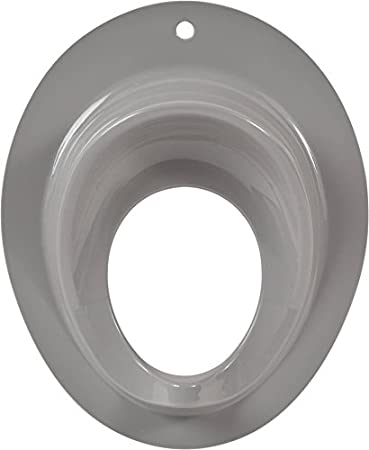 Evideco 4304100 Potty Seat for Boys Or Girls Toilet Training Toddler Secure Non-Slip Ring Urine Splash Guard, Round, White Tendance