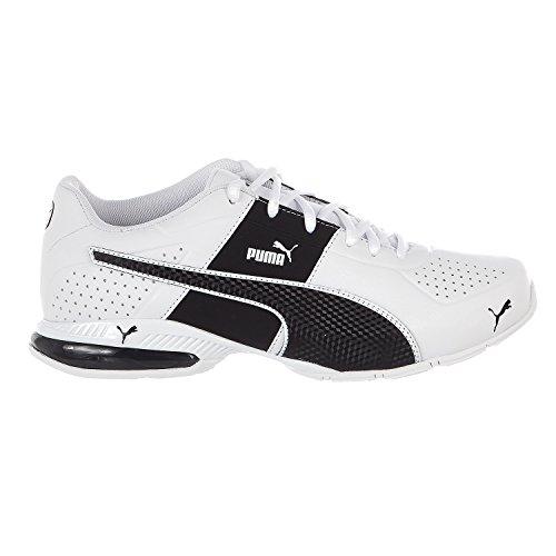 PUMA Men's Cell Surin 2.0 FM Sneaker, White Black, 10.5 M (Puma Train)