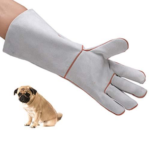 Men Gloves Gloves Gloves Anti-Bite Gloves Four Seasons Gloves Leather Gardening Gloves Dog Training Dog Training Dogs Squirrel Anti-Cats and Dogs Lizard Snakes Grazing Bites Scratching Gloves Fox Ra