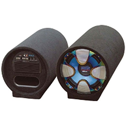 PYLE PLTAB12 Blue Wave Series Amplified Subwoofer Tube System (12, 800 Watts) - ONE YEAR Warranty