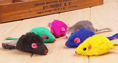 Generic Leder Katzenspielzeug (Stil: 1 Stück zufällige Farbe & Größe: zufällig) # 7544