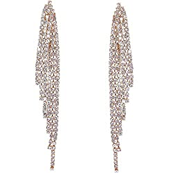 Angel Wing Gold-Tone Simulated Diamond Earring
