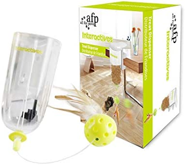 All for Paws Cat Interactive Treat Puzzle Toy, Cat Food Dispenser Toys 6