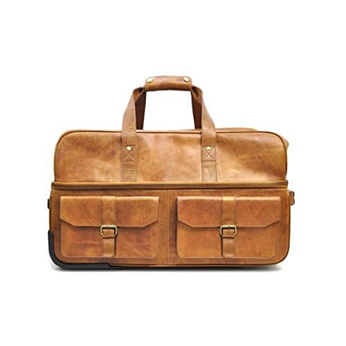 Rawlings Wheeled Travel Duffle, Cognac