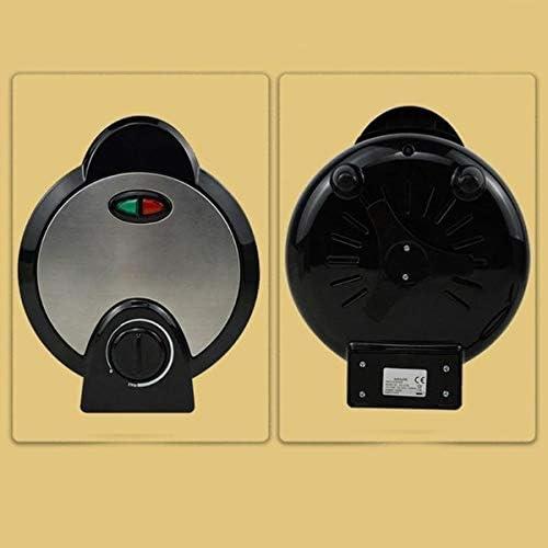 Gaufrier Électrique En Acier Inoxydable Le Contrôle Automatique De La Température Crêpière Électrique Machine À Crêpes Avec Revêtement Anti-Adhérent