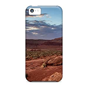 High-quality Durability Case For Iphone 5c(sunset At Canyonls)