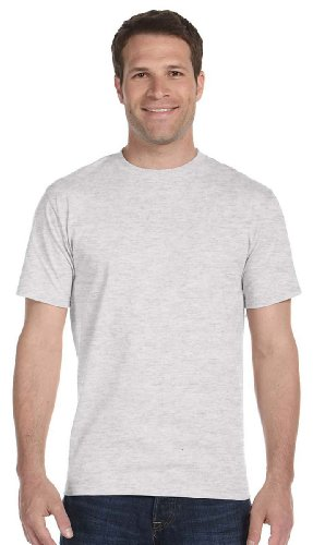 Gildan 5.6 oz. Ultra/Dry Blend 50/50 T-Shirt>M ASH - Blend Cotton Double Dry