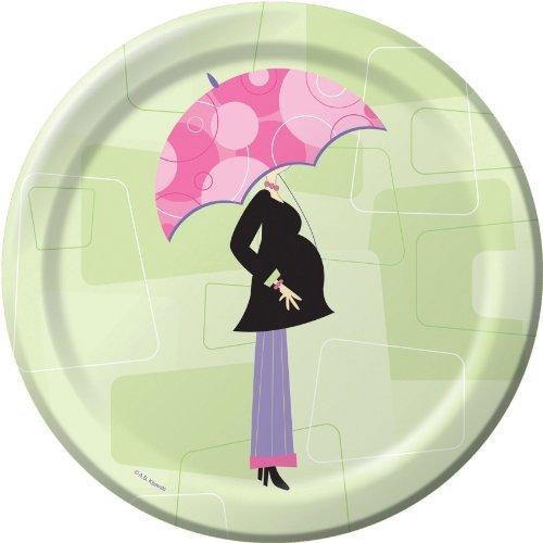Mod Mom Baby Shower Dessert Plates 8ct