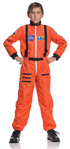 NASA Orange Astronaut Kids Costume