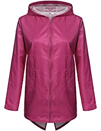 Pink Rain Coats | Down Coat