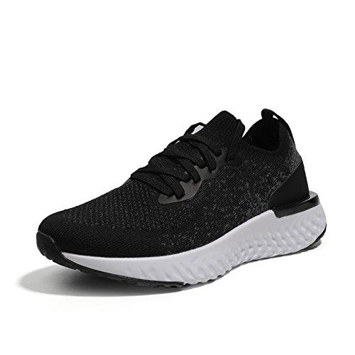De Calzado Black Zapatos Deportivo Mujer Transpirables Zapatos NGRDX amp;G Gruesos Malla 5qOxwpY4
