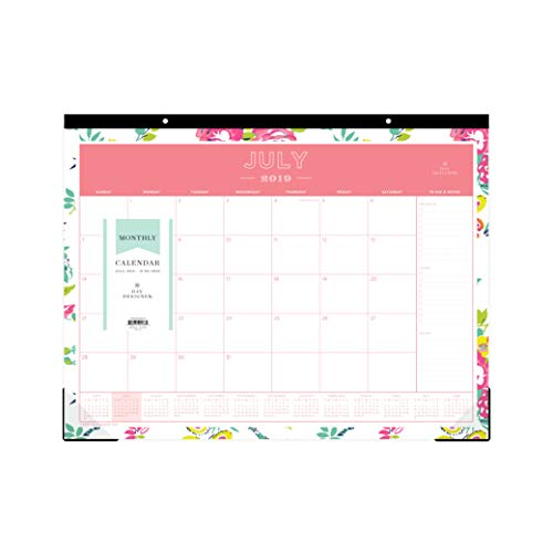 Day Designer for Blue Sky 2019-2020 Academic Year Monthly Desk Pad Calendar, 22