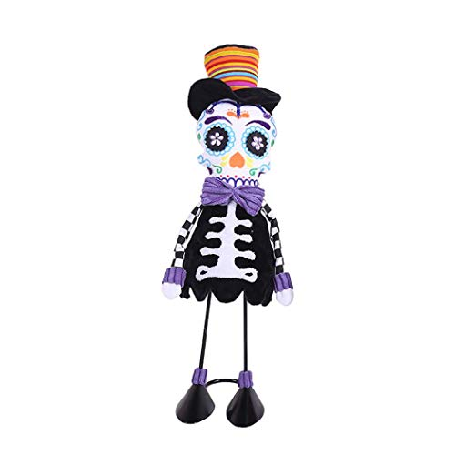 Halloween Clearance, Halloween Dolls Swing Skull Ornament Creative Dance Performance Costume Props (B) ()