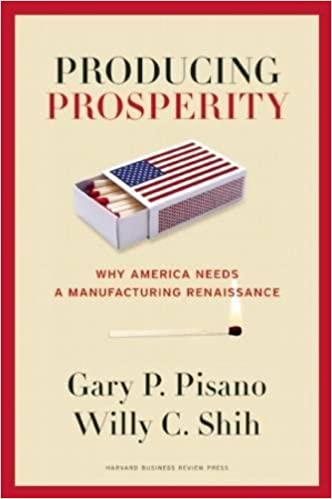 image for Producing Prosperity: Why America Needs a Manufacturing Renaissance