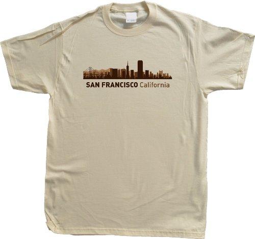 San Francisco, CA City Skyline Unisex T-shirt California Hometown Pride Tee