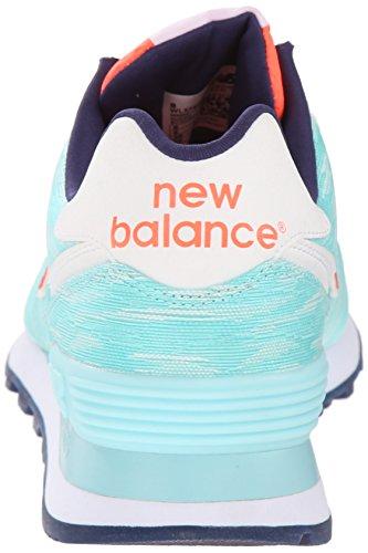 new balance women's wl574 summer waves running shoe