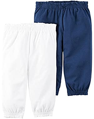 Baby Girls' 2 Pack Pants