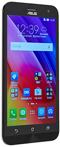 Asus Zenfone 2 Laser ZE500KL 16GB Silver, Dual SIM, Unlocked GSM International Version, No Warranty