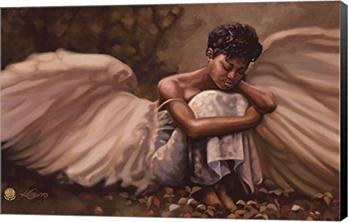 This Too Shall Pass by Henry Lee Battle Canvas Art Wall Picture, Museum Wrapped with Black Sides, 34 x 22 inches by Great Art Now