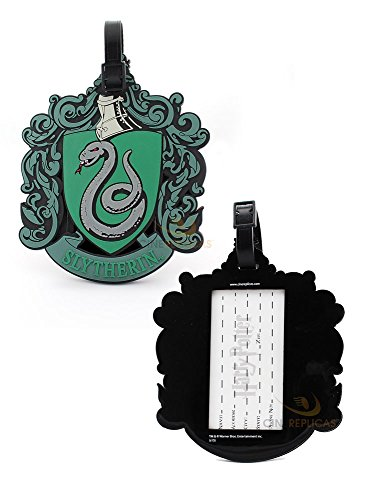 Harry Potter Travel Suitcase ID Luggage Tag and Suitcase Label - Cinereplicas (Slytherin)