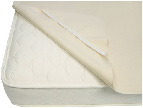 Naturepedic Organic Waterproof Protector Pad with Straps - Twin -Beige  38