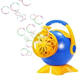 Geekper Automatic Bubble Machine Toy with AC Adaptor for Kids - 800 Bubbles