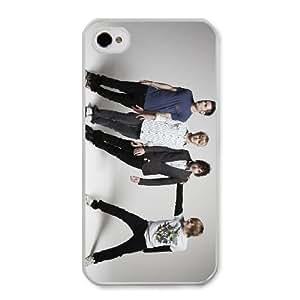 McFly A0S2PE3N Caso funda iPhone 4 4s Caso funda del teléfono celular blanco
