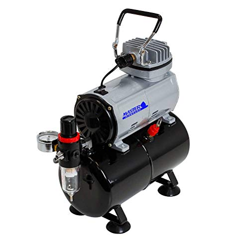 Airbrush Depot TC-20T Airbrush Tank Compressor with Water Trap and ()