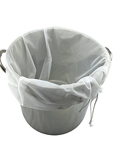 Extra Large (26″ x 22″) Reusable Drawstring Straining Brew in a Bag