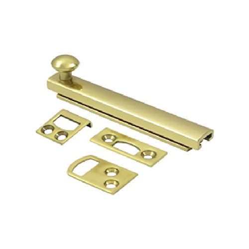 Deltana 4SBCS3 Hd Concealed Screw Solid Brass 4-Inch Surface ()