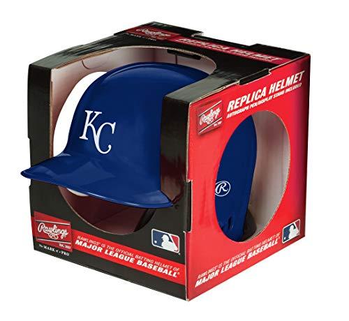 - Rawlings MLB Kansas City Royals Mini Replica Helmet, Blue