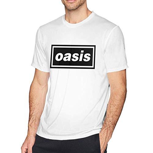 (Bikepa Men Oasis Logo Printed Tee,White,XX-Large)