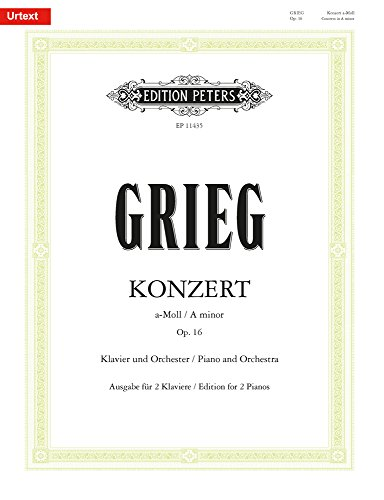Grieg: Piano Concerto in A Minor, Op. 16 (Grieg Concerto In A Minor Sheet Music)
