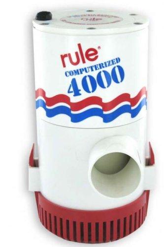 Rule 56S Marine 4000 Automatic Bilge Pump (12-Volt)