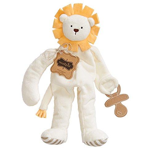 Mud Pie Pacifier Cuddler Lion