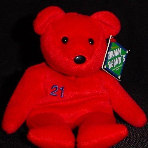 (Salvino's Bamm Beano's - Sammy Sosa #21 Red Bear )