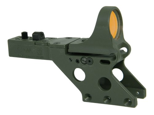 (C-MORE Systems Serendipity Red Dot Sight with Standard Switch (Frame Width: .830-Inch), Olive Drab Green, 6 MOA)