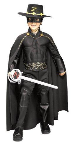 Deluxe Kids Zorro Cape - Child Std.